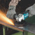 """Makita DGA508Z  5"""" Cordless Angle Grinder with Brushless Motor and Electric Brake"""