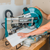 """Makita LS1219L  12"""" Dual Bevel Sliding Compound Miter Saw with Laser"""