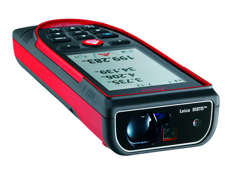 Leica Lasers and Disto LEI-799097 D810 Touch Laser Distance Measure - Android and Apple Compatible