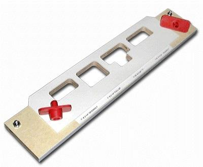 Templaco Tools Inc TEM-MS-400 Multi Strike Template, 4 Pockets On Single Carrier