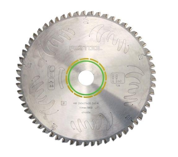 Festool FES-495388  Universal 60 Tooth Saw Blade