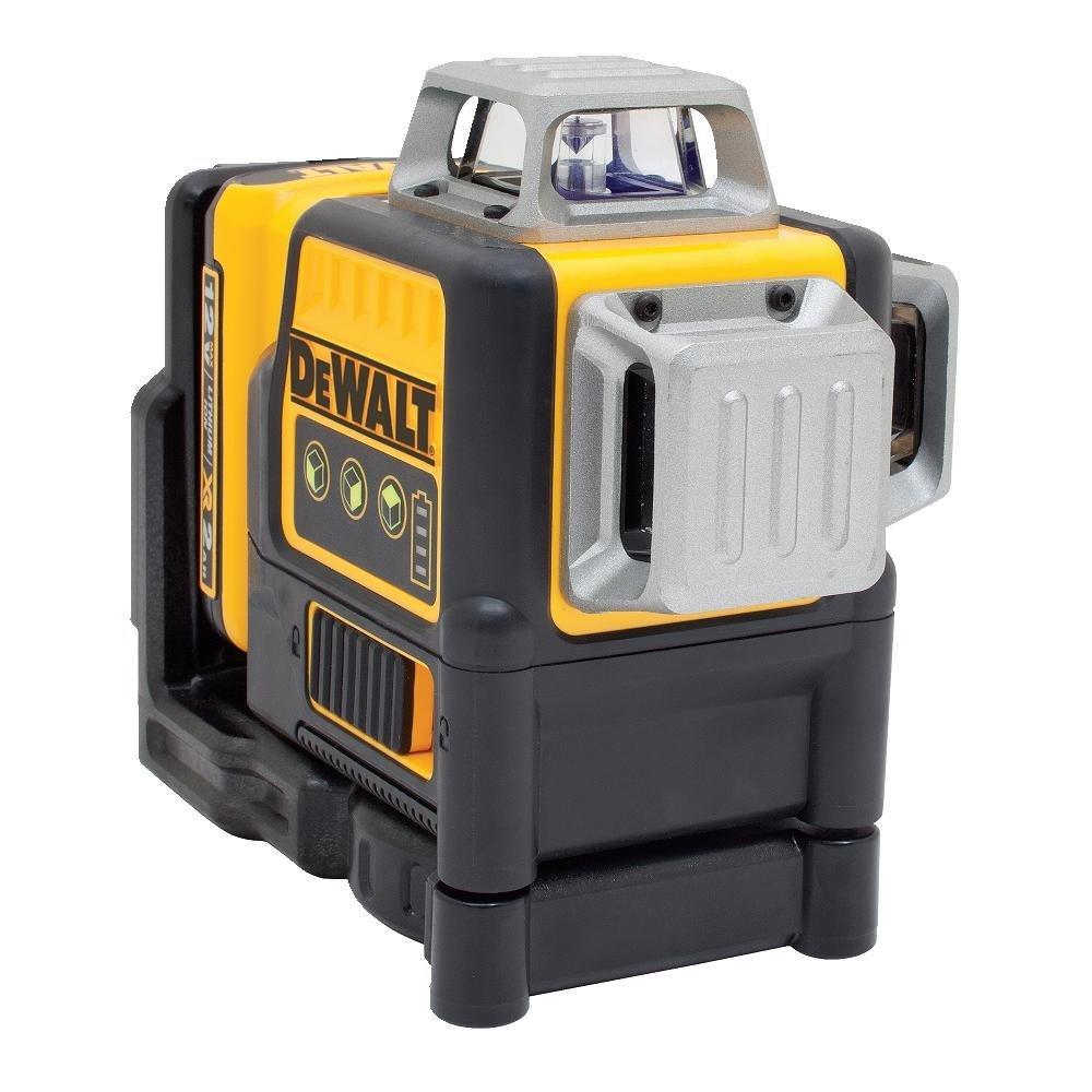 Dewalt DW089LG 3 Beam Green Laser With 12V Battery & Charger