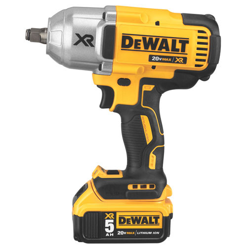 "Dewalt DCF899HP2  20V MAX XR Brushless High Torque 1/2"" Impact Wrench Kit w. Hog Ring Anvil (5.0Ah)"
