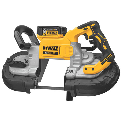 Dewalt DCS374P2  20V Max Brushless Deep Cut Band Saw Kit with 2x 5.0Ah Batteries