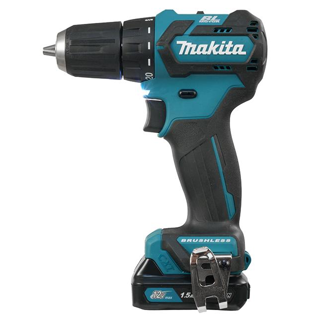 """Makita DF332DSYE 12V 3/8"""" Cordless Drill / Driver with Brushless Motor - 2 Batt Kit"""