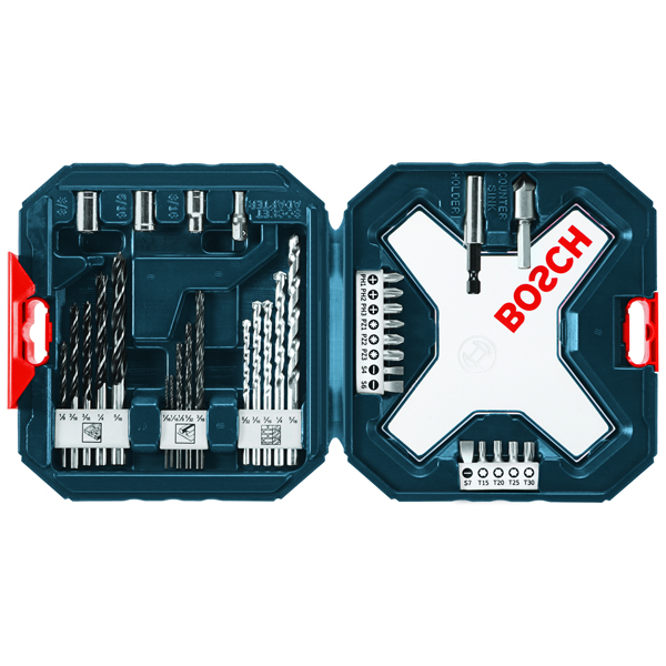 Bosch MS4034  34pc Drilling and Driving Mixed Set