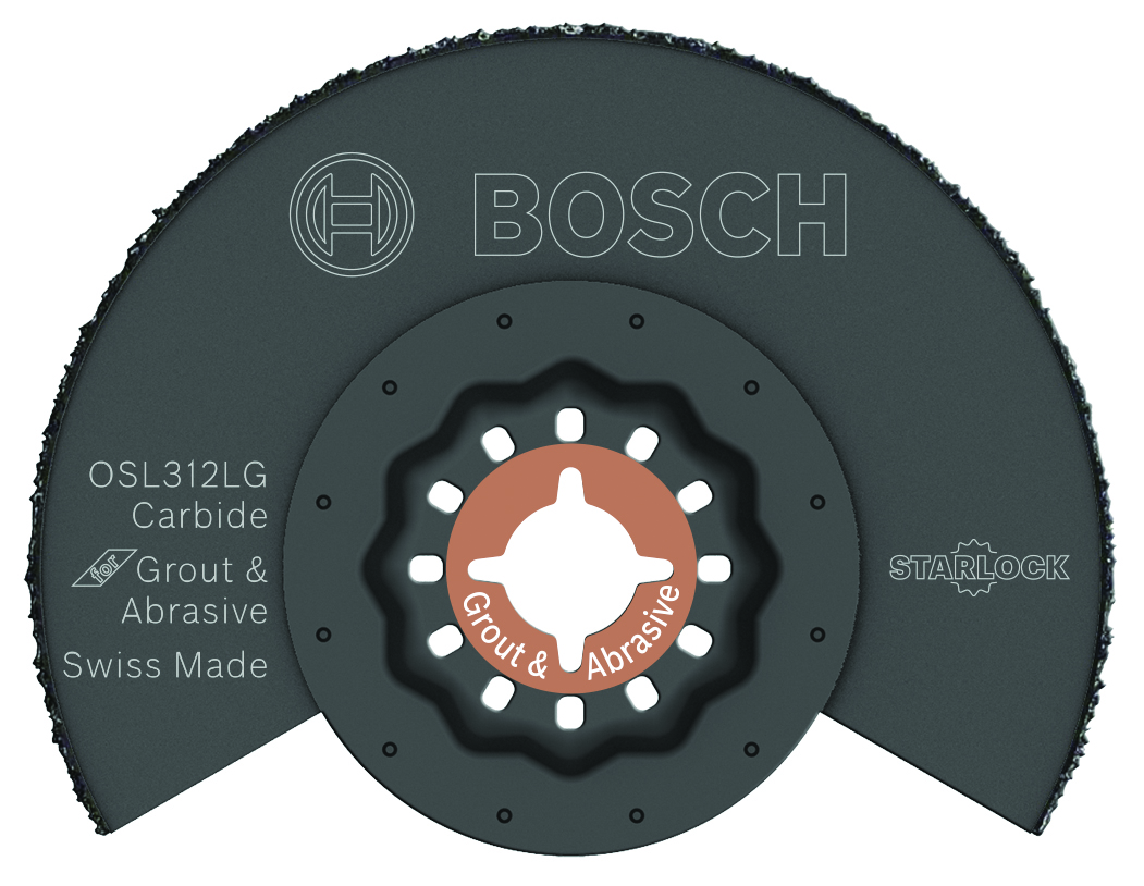 Bosch OSL312LG  3-1/2 In. Starlock Carbide Grit Grout Blade