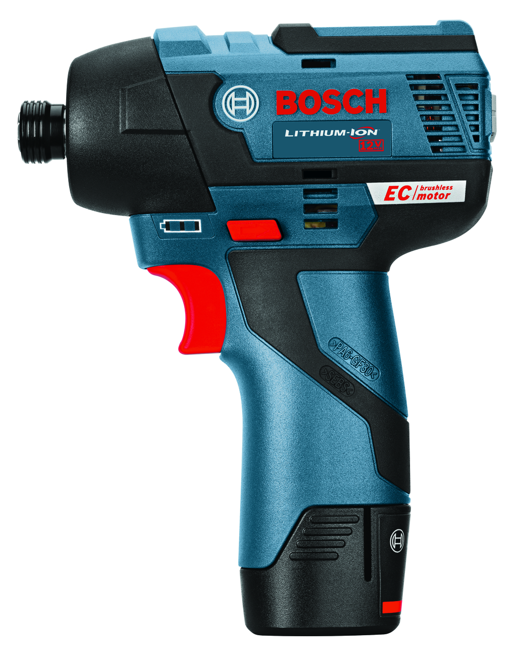 Bosch PS42-02  12V MAX EC Brushless Impact Driver Kit with 2x 2.0Ah Batteries