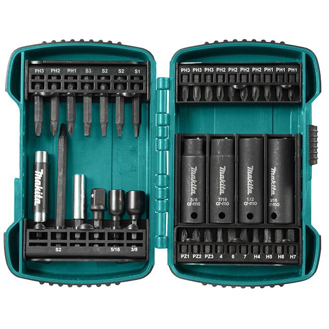 Makita T-03078  37 Piece Driver Bit & Socket Kit