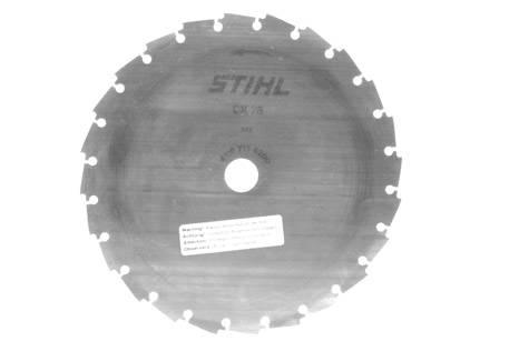 "Stihl STL-41127134203  Chisel Blade - 8""/200mm, 25mm arbour"