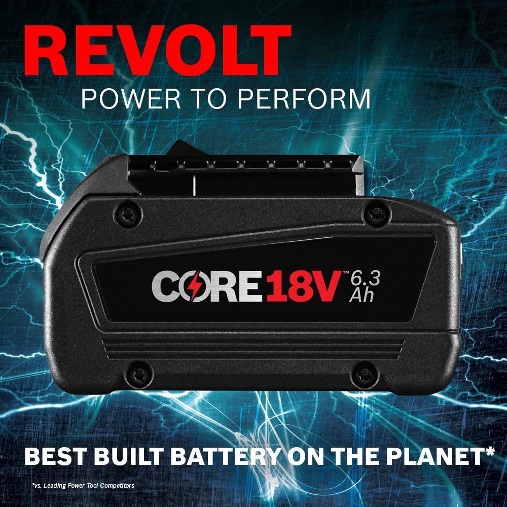 Bosch GBA18V63  CORE18V 18 V Lithium-Ion 6.3 Ah Battery