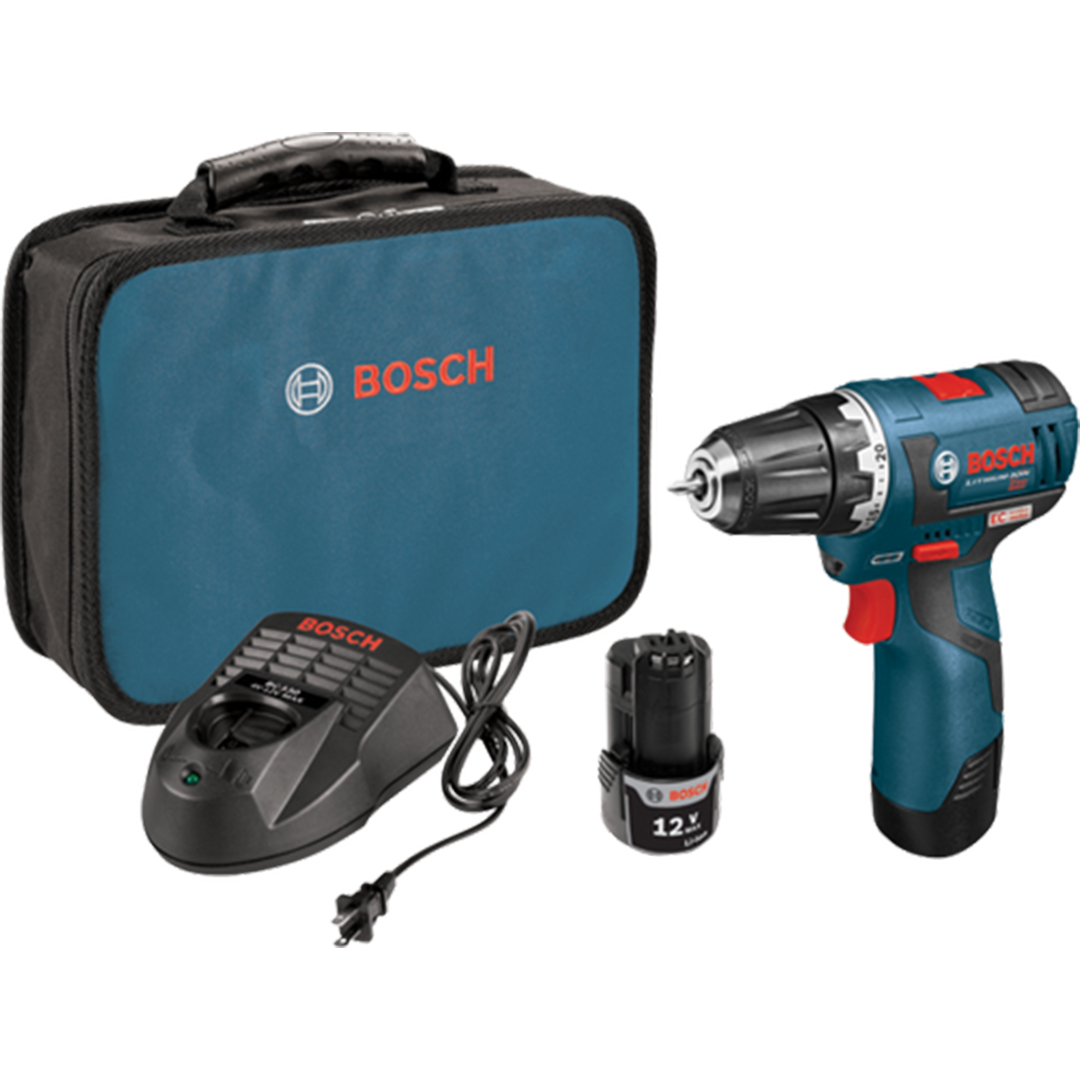 Bosch PS32-02 12 V Max EC Brushless 3/8 In. Drill/Driver