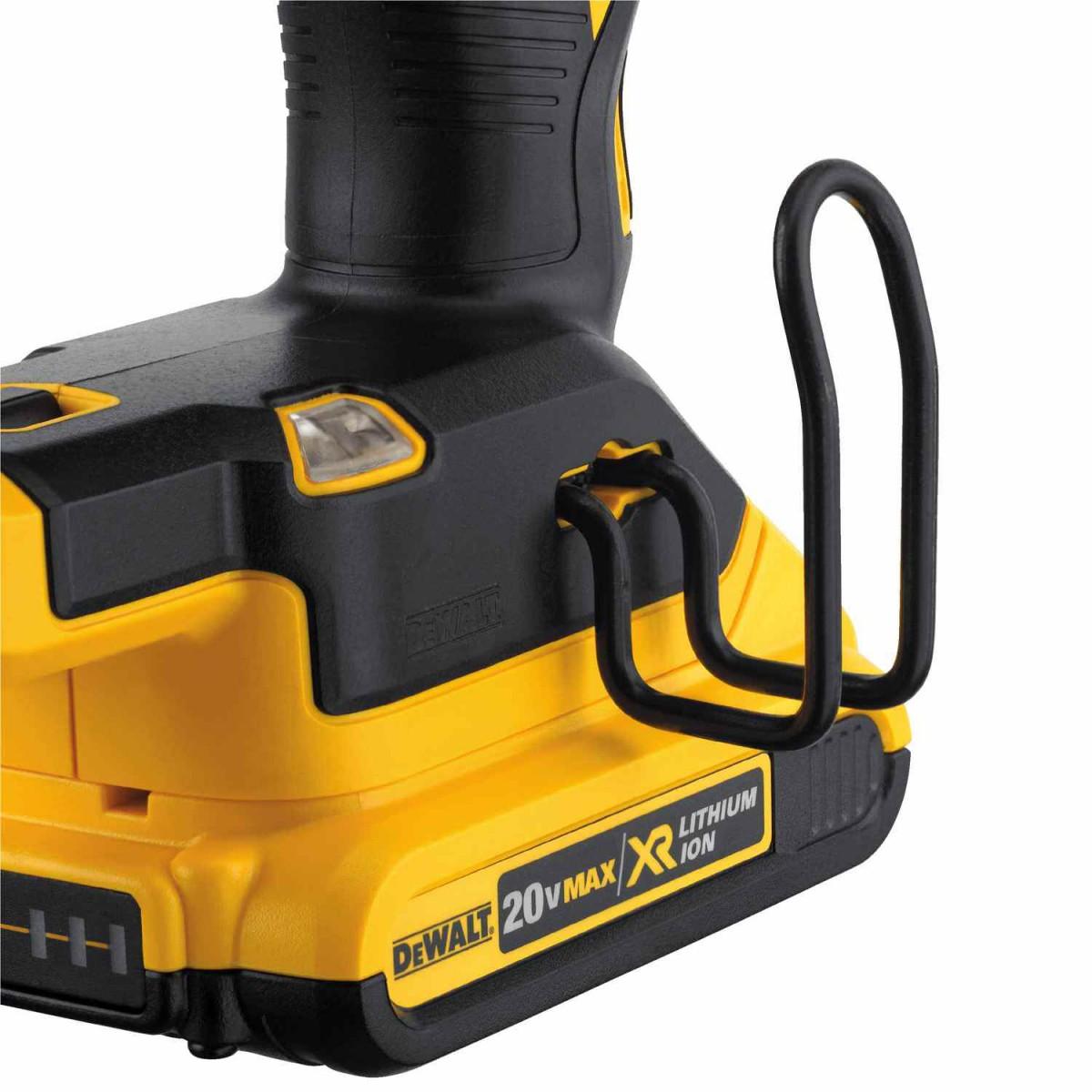 Dewalt DCN680D1  20V Max XR 18 Ga Brushless Brad Nailer Kit with 2.0Ah Battery