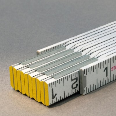 Stabila STAB-80010 Engineers Folding Ruler - Modular 1/16ths scale both edges-outside