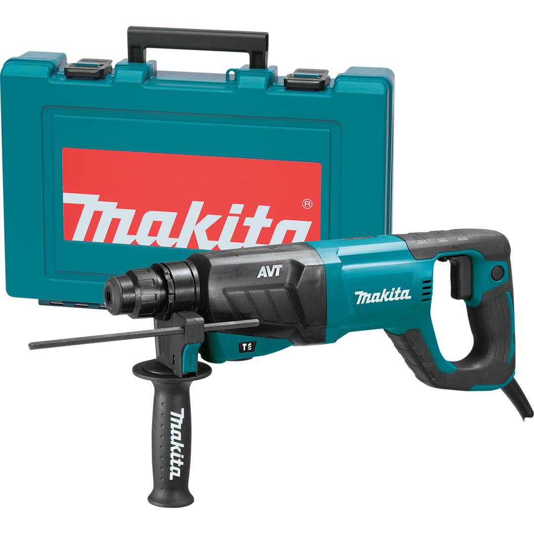 "Makita HR2641 1"" AVT Rotary Hammer, accepts SDS-PLUS bits (D-Handle)"
