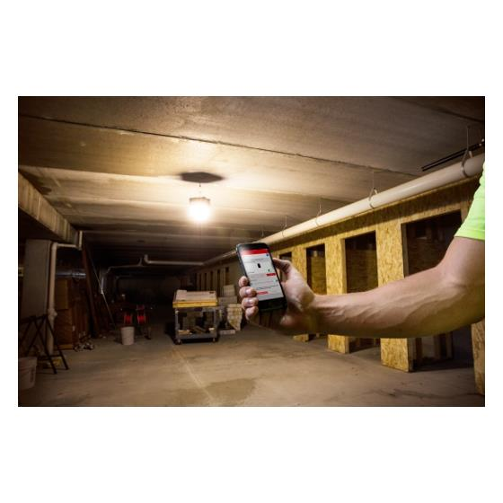 Milwaukee 2146-20  M18 RADIUS LED Compact Site Light w/ ONE-KEY