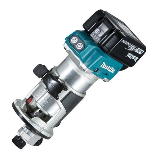 """Makita DRT50ZX4  18V LXT Cordless 1/4"""" & 3/8"""" Router (Tool Only)"""