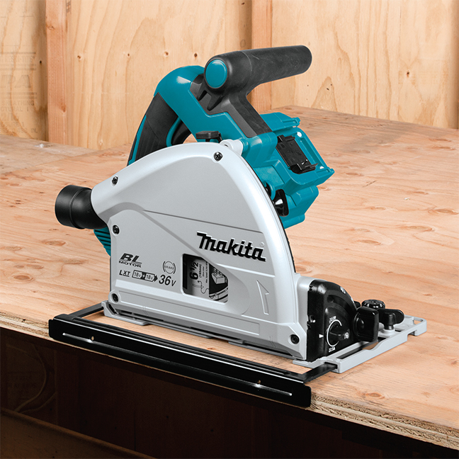 "Makita DSP600ZJ  18Vx2 LXT 6-1/2"" Plunge Cut Circular Saw - Tool Only"