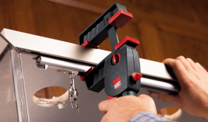 """Bessey BES-DUO30-8  12"""" x 3.25, DuoKlamp, large surface one handed clamp"""