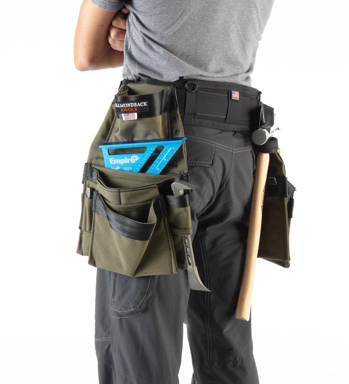 DiamondBack ToolBelt DBT-DB5-3  The Raptor - Carpenter/Remodeler
