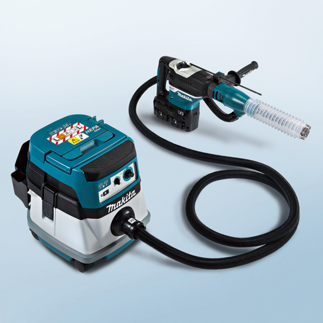 "Makita DHR400ZK  SDS Max 1-9/16"" Cordless Brushless Rotary Hammer Bare Tool + FREE 2x 5AH Battery"