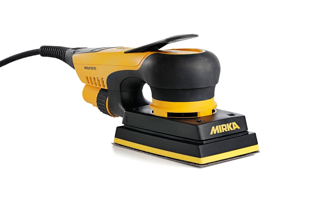 "Mirka Abrasives MIR-MID3530201CA  Mirka Deos Sander 3"" x 5"" (3.0mm Stroke) with Bluetooth"