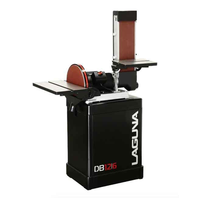"Laguna LAG-MSANDB1248110  12"" Disc & 6' x 48' Belt Combination Sander"