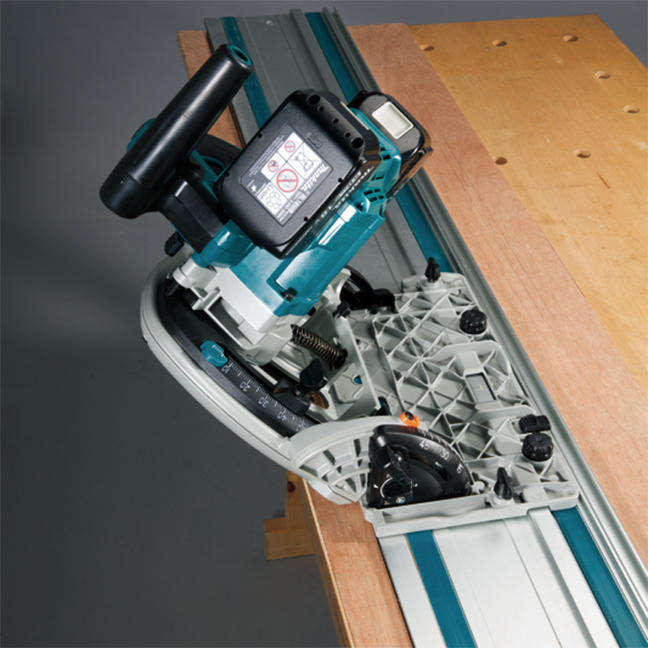 "Makita DSP601ZJ  6-1/2"" 18Vx2 Plunge Cut Circular Saw with AWS"
