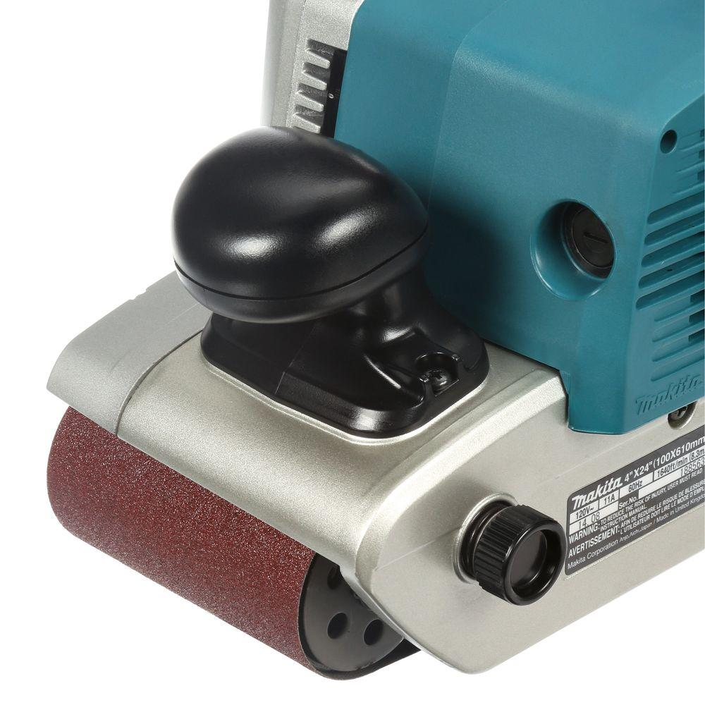 9403  11 Amp 4 in. x 24 in. Corded Belt Sander and Dust Bag