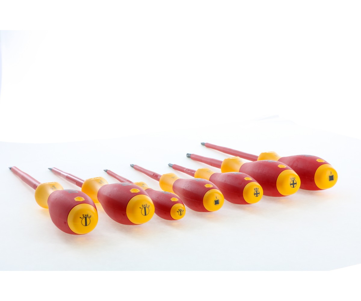 Wiha WIHA-32097 Insulated Screwdriver Set 7 Piece with Square Tips - THE BIG DEAL!!!