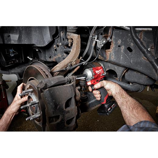"Milwaukee 2554-20 M12 FUEL 3/8"" Stubby Impact Wrench"
