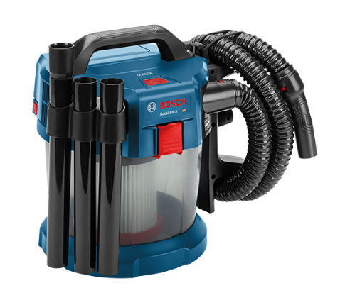 Bosch GAS18V-3N 18 V 2.6-Gallon Wet/Dry Vacuum Cleaner with HEPA Filter (Bare Tool)