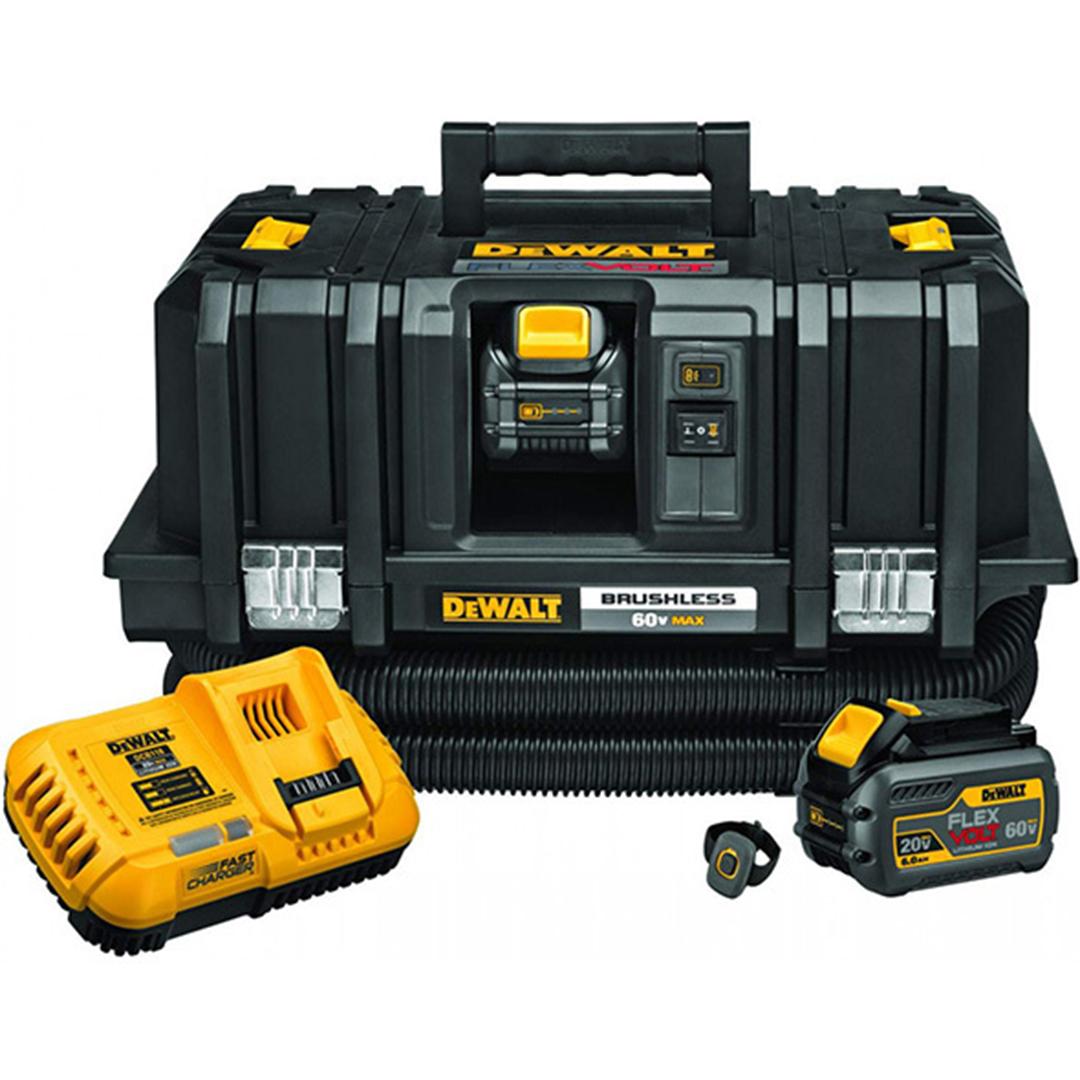 DeWALT DCV585T2 FLEXVOLT 60V MAX Dust Extractor Kit with 2x 6.0Ah Batteries