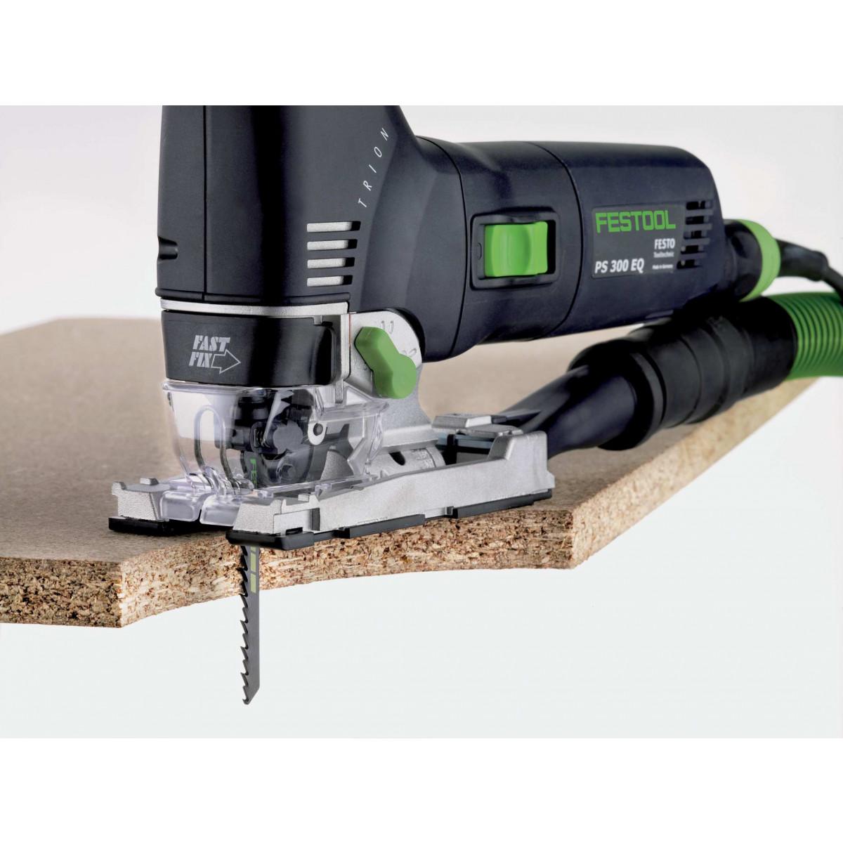 Festool S75/4 Clean-Cut Jigsaw Blades, 3 Inch, 6 TPI