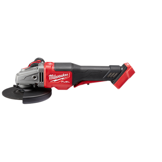 "Milwaukee 2980-20 M18 FUEL 4-1/2"" - 6"" Small Angle Grinder, Paddle Switch No-Lock (TOOL ONLY)"