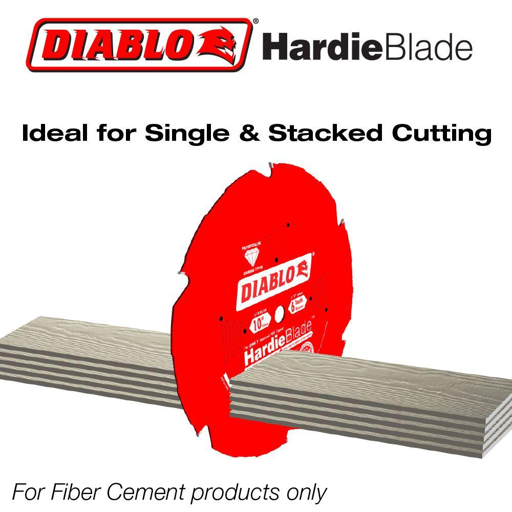 "Freud FRE-D0704DH 7-1/4"" X 4T Polycrystalline Diamond (PCD) Tipped James Hardie/Fiber Cement Saw Blade"