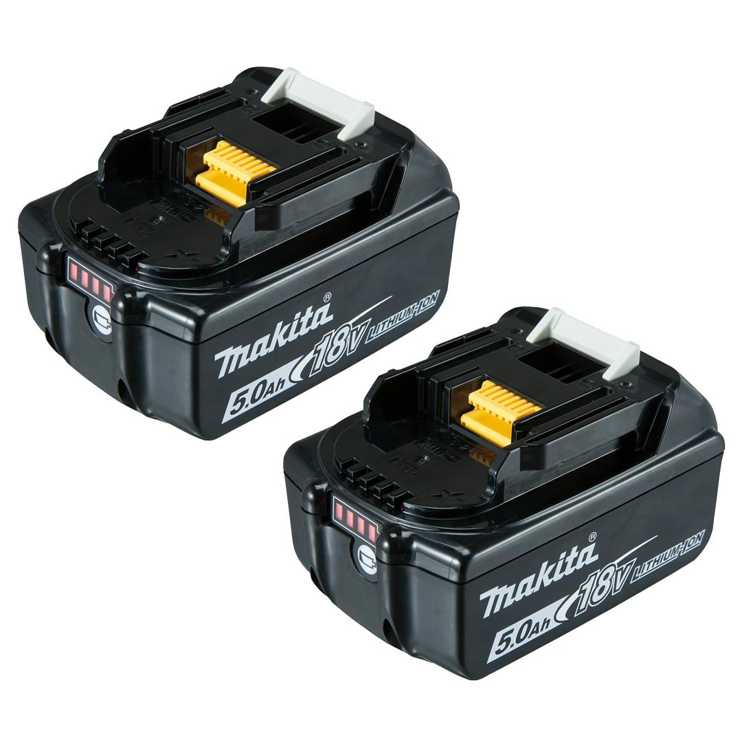 Makita DTD153RTE 18V Mobile Brushless Impact Driver 2x 5.0Ah Kit