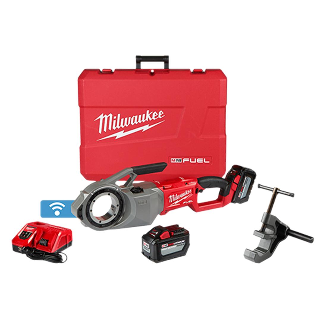 Milwaukee 2874-22HD M18 FUEL Pipe Threader w/ One-Key 2x 12.0Ah Kit