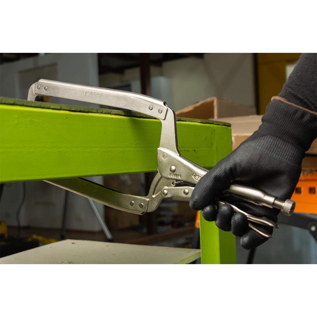 Irwin IRW-21 Vise-Grip 18-Inch Locking Clamp with Regular Tips