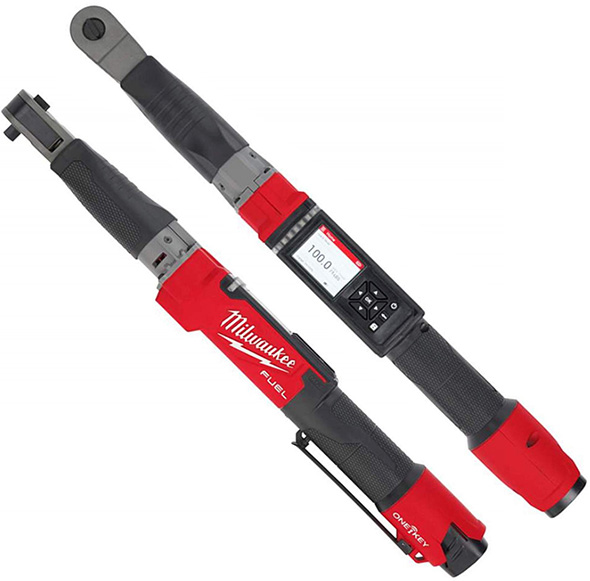 "Milwaukee 2465-20 M12 Fuel 3/8"" Digital Torque Wrench with ONE-KEY Bare Tool"