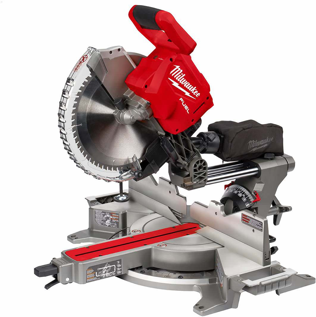 "Milwaukee 2739-20 M18 FUEL 12"" Dual Bevel Sliding Compound Miter Saw - Bare Tool"