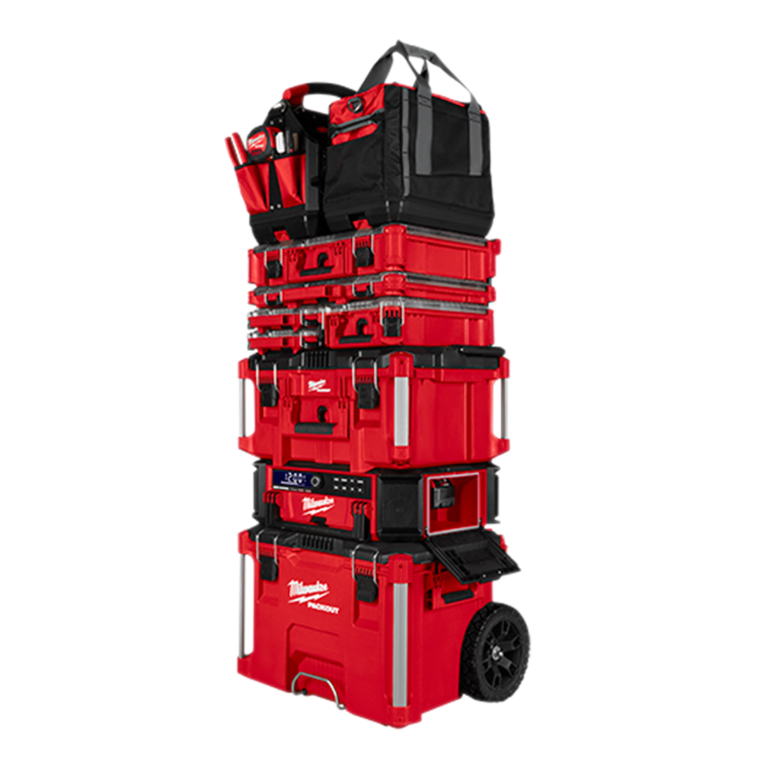 Milwaukee 2950-20 M18 PACKOUT Radio + Charger