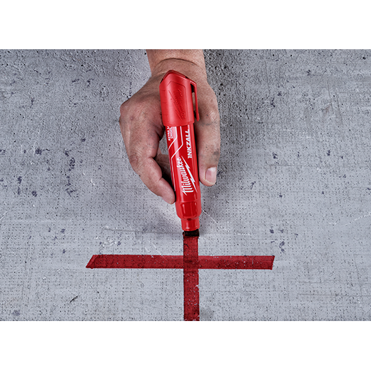 Milwaukee 48-22-3XXX INKZALL Extra Large Chisel Tip Jobsite Markers