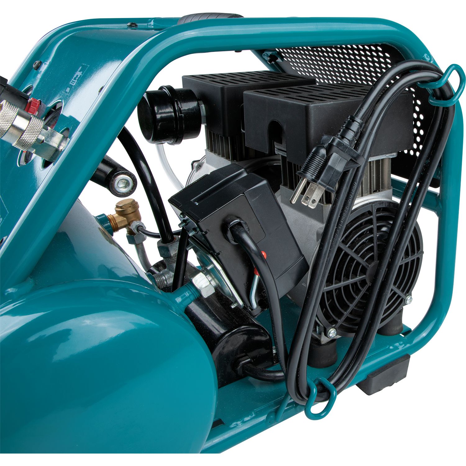 Makita MAC320Q Quiet Series 1‑1/2 HP, 3 Gallon, Oil‑Free, Electric Air Compressor