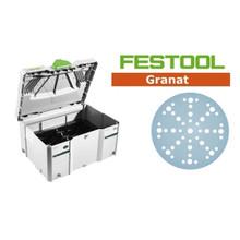 diam/ètre 150 mm 575190 0W 50 pi/èces Granat de meulage Festool Multi-Jetstream 0V