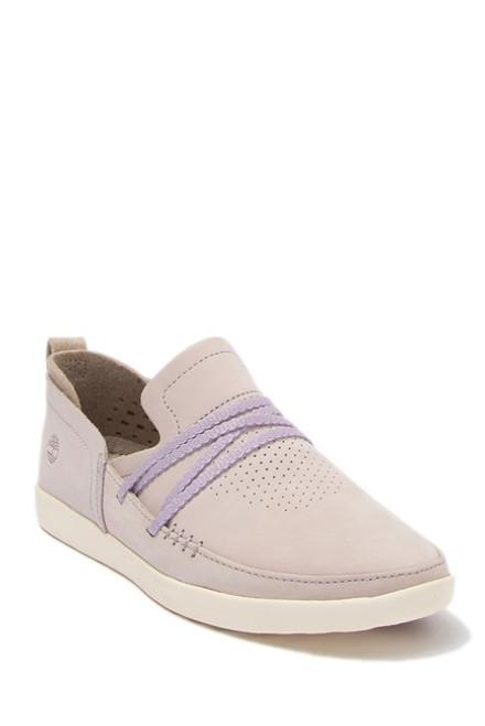 Timberland - Project Better Leather Micro-perforated Ladies Slip-On Sneaker