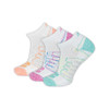New Balance Women's 3 Pack Performance Low Cut Socks White