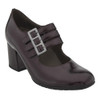 Earthies Women's Fortuna Heel Wine Patent