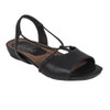 Earthies Women's Lacona Sandal Black Leather