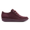 Unstructured By Clarks Women's Funny Dream Chukka Boot Aubergine Nubuck